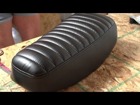 How to Make a Pleated Seat Cover for a Motorcycle