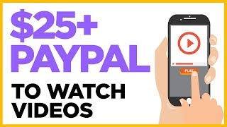 Make Money Watching Videos - Get PayPal Money