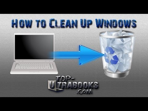 How to Clean a Windows PC and Make your Computer Faster - PC Noob Guide