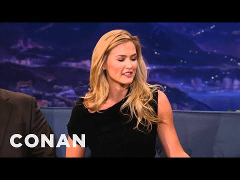 "Bar Refaeli On Being #1 On Maxim s ""Hot 100"" - CONAN on TBS"
