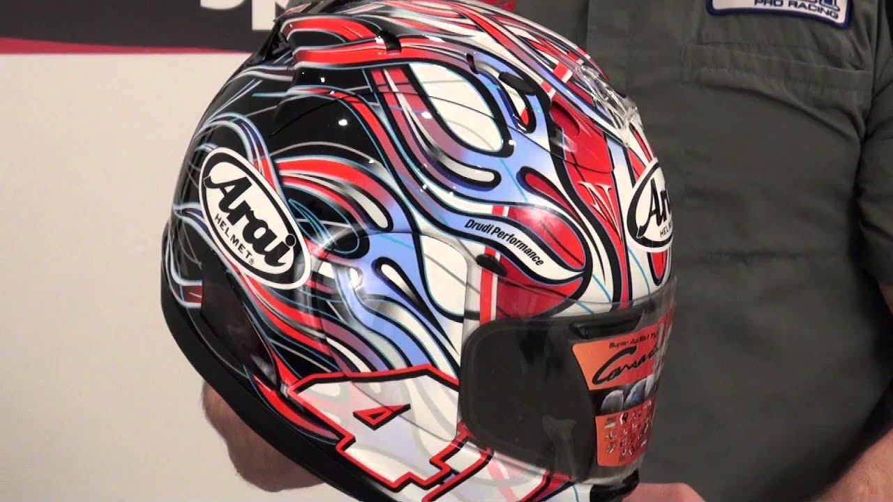 Arai Corsair V Haga Rainbow Helmet Review From