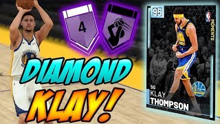 NBA 2K19 MYTEAM DIAMOND KLAY THOMPSON GAMEPLAY! BET YOU DIDN'T EXPECT THIS!