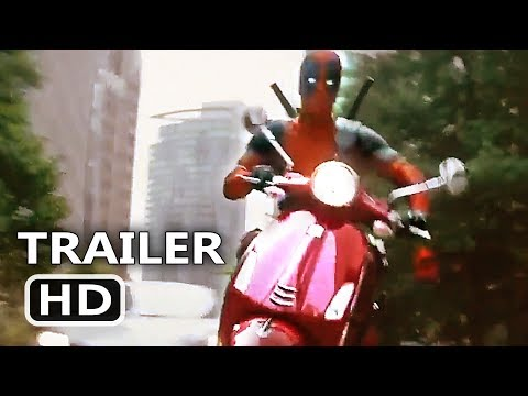 DEADPOOL 2 Scooter Chase Clip (NEW 2018) Ryan Reynolds Movie HD