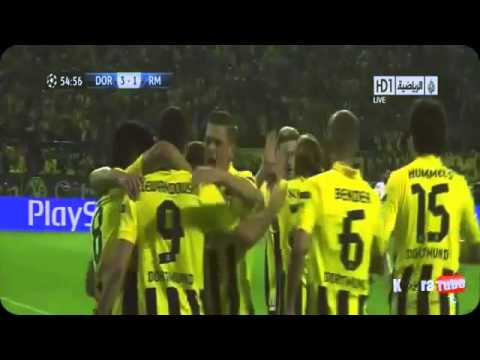 Borrusia Dortmund Vs Real Madrid Champions League Semi-final 2013