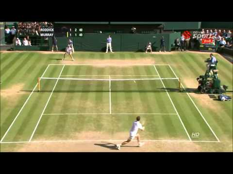 Roddick vs Murray - Wimbledon 2009