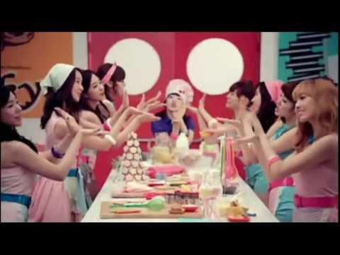 SNSD - LG Cooky (Chipmunk Version) Music Video