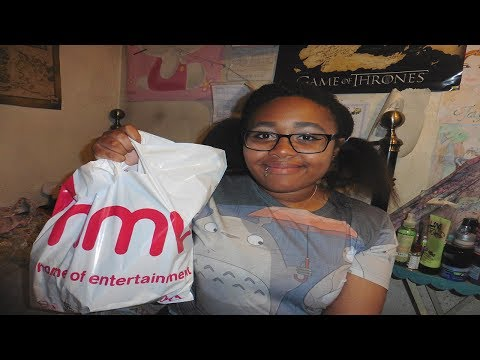 Itty bitty TREAT YO SELF haul ^^ + mini Skullcandy grind headphones review