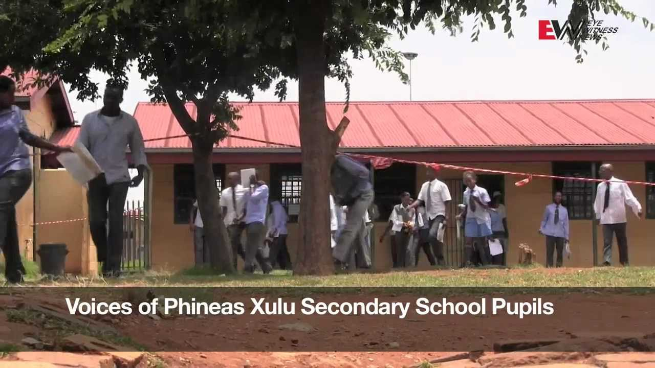 Alleged bully shot dead at Vosloorus school - YouTube