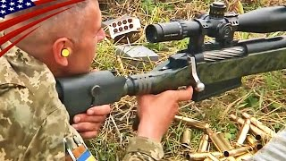 Special Forces Snipers .50 Cal Rifle Shooting: Barrett M82 & McMillan Tac-50 - 特殊部隊スナイパーの50口径ライフル射撃