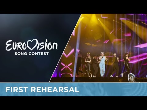 Sandhja - Sing It Away (Finland) First Rehearsal