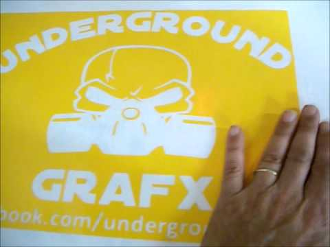 how to make t shirts at home with vinyl plotter 2012
