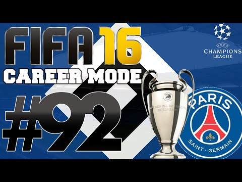 FIFA 16 | Bundesliga Career Mode | #92 | Champions League Final v PSG (Series Finale)