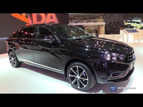 2016 Lada Vesta Signature - Exterior and Interior Walkaround - 2016 Moscow Automobile Salon