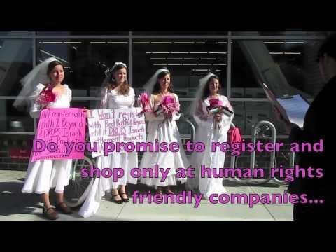 BDS Brides Boycott SodaStream and Ahava Sales at Bed Bath & Beyond