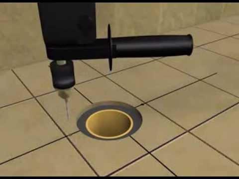 Instalacion brida sanitaria de piso para desagues de 3 for Como instalar un inodoro con salida vertical