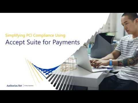 Simplify PCI Compliance with Authorize.net Accept Webinar