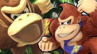 Donkey Kong DEMOLISHES Elite Smash