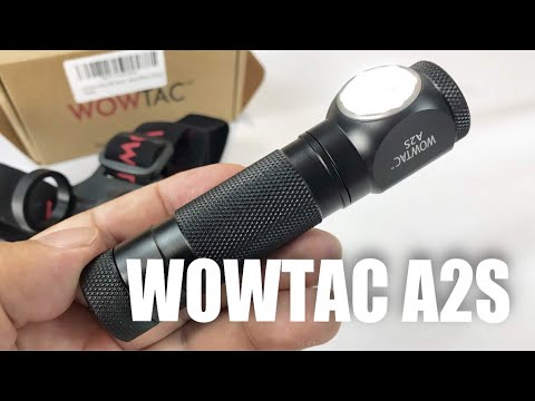 Wowtac A2S 5 Mode 1050 Lumen CREE LED Waterproof Headlamp and Flashlight combo review