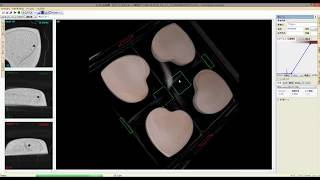 Valentine's chocolate:3D slices movie