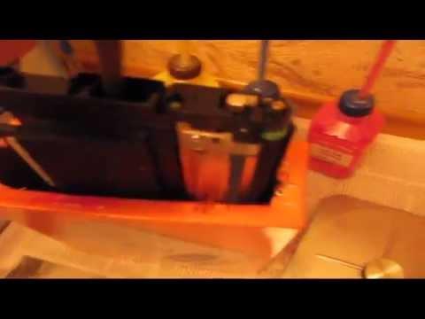 Заправить чёрный картриджа лазерного принтера samsung CLX-3185
