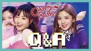 Hot Debut Cherry Bullet Q A 체리블렛 Q A Show Music Core 20190126