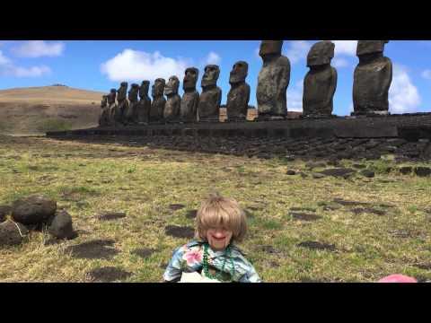 JayR on Easter Island.