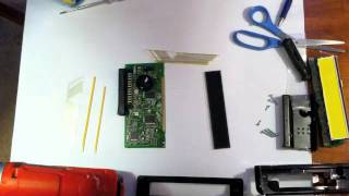 theSAABguy Repairs: SAAB Information Display SID Replacement of Ribbon Cable