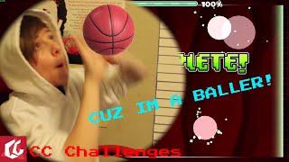 CUZ IM A BALLER! - CC Challenges #18 | Geometry Dash