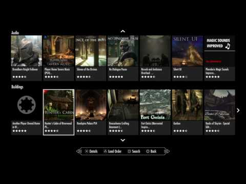 Skyrim Remastered - PS4 - Mods Updates 1
