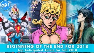 Beginning of the End | Top Anticipated Anime for Fall 2018