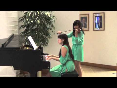 Song from a Secret Garden Piano Violin Duet