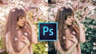 Photoshop Tutorial: How to edit a photo | Retro Effect | vintage effect | Photoshop cc 2017