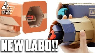 8 NEW NINTENDO LABO GAMES DISCOVERED! Info + Predictions (Nintendo Switch 2018)