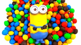 Funny Minion and M&M