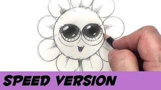 How to Draw a Flower With Coins - Speed Drawing Cartoon Flower | BP