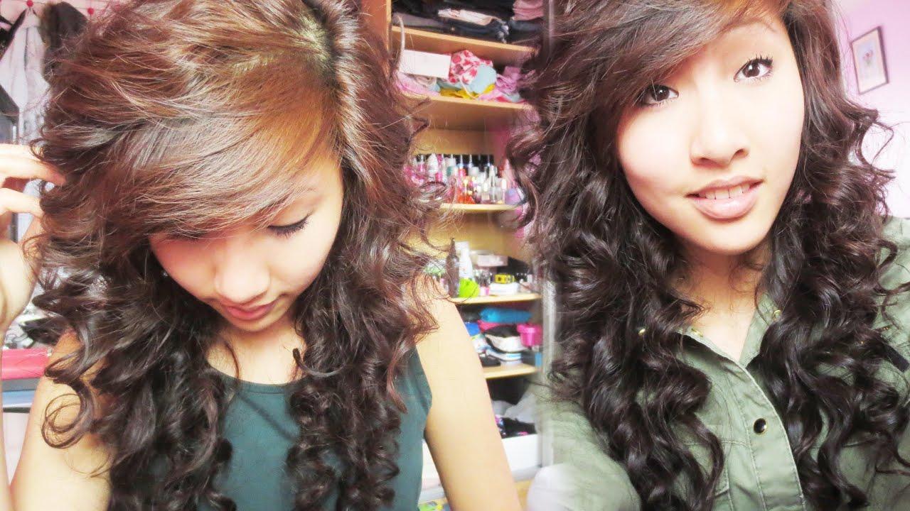 Heatless Curls Overnight Emily Youtube