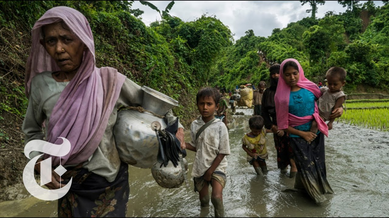 'Endless Stream' of Rohingya Flee Military Offensive in Myanmar