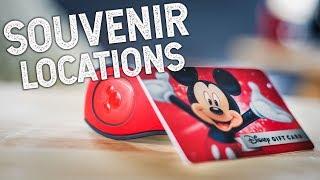 Top 5 Souvenir Locations at Walt Disney World