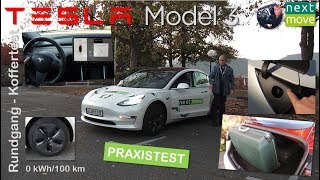 Tesla Model 3: Rundgang durch das Fahrzeug (Walkthrough) | nextmove