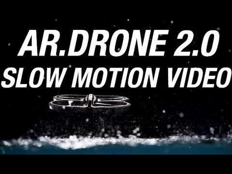 AR.Drone 2.0 Slow Motion Video with Phantom Flex Camera