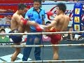 Muay Thai Fight -Sanwangchai vs Samingyok (แสนวังชัย vsสมิงหยก),Rajadamnern Stadium Bangkok-18.2.16