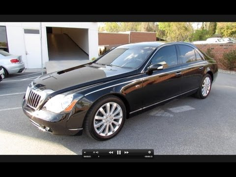2007 Maybach 57 S Start Up, Exhaust, and In Depth Tour