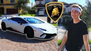 MY NEW LAMBORGHINI HURACAN PERFORMANTE!! (NEW CAR REVEAL)
