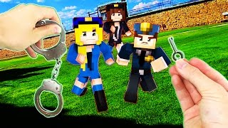 Realistic Minecraft - PRISON ESCAPE IN REAL LIFE!