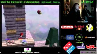 CFTC CE14: SkullRed (Mario) vs Gamb (Falcon) (Round 1, N64)