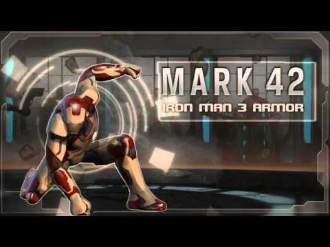 Marvel Heroes MMO - Iron Man 3 Armors Trailer
