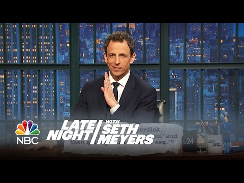 Seth Explains Teen Slang - Late Night with Seth Meyers