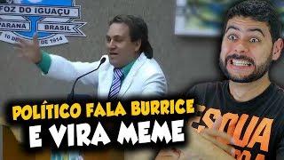 Político fala burrice e vira MEME! Impossível não rir!