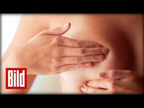 Brustkrebs-Vorsorge mit abtasten - So einfach ist die Selbstuntersuchung