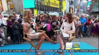 Lily Collins - Lara Spencer Good Morning America interview